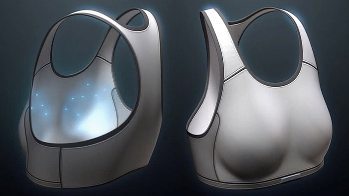 This Smart Bra Could Help Catch Breast Cancer Early