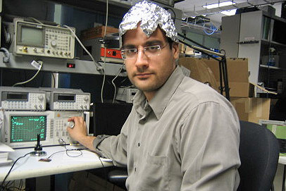 Tin Foil Hats Are Counterproductive. Really?