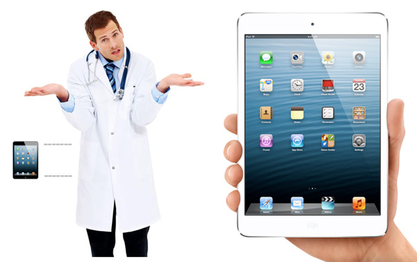 Physicians Like Lab Coat Friendly Size iPad Mini